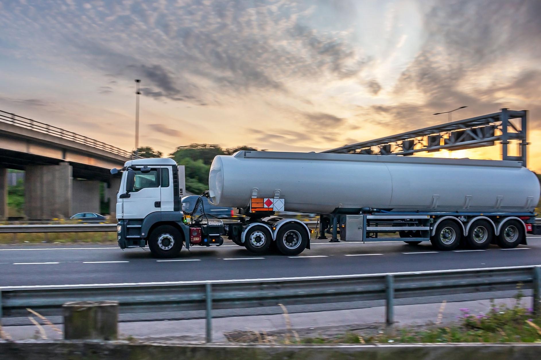 ADR lorry driver