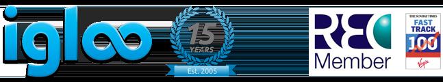 igloo 15 years logo